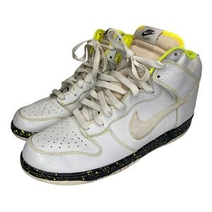 """Rare Nike Dunk """"east"""" Swan Anthracite Volt Yellow"""